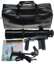 novoflex rapid focus pistolengriff tele 5.6/400mm t-noflexar chest pod retro tasche