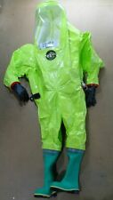 Respirex Tychem Tk Type 1a Limited Life Hazmat Chemical Gas Tight Suit G5