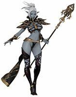 Lineage 2 Dark Elf 1/7 Figure Goddess of death 230mm Orchidseed Anime