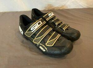 SiDI Giau Women's Mountain Bike Cycling Shoes w/SPD Cleats EU 39 US 7-7.5 Black