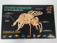 Insect Kingdom Plywood Model Kit Bumble Bee