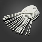 20ps Foldable Car Opener Double Sided Lock Pick Set Locksmith Tools Track Number