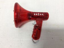Red Multi Voice Modifer Changer Microphone Megaphone Halloween Party Toys Kids