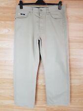 "Mens Hugo Boss Alabama 16256 3/4 Length Grey Trousers Waist 36"" Leg 34""       14"