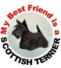 2 Scottish Terrier Car Stickers By Starprint - Auto combined postage