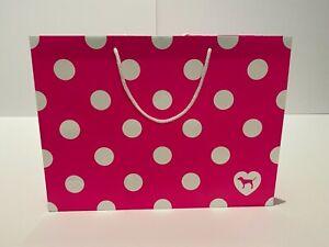 "Victoria's Secret PINK Shopping Bags 15.8"" L x 6"" W x 11.6"" H Large L Set of 10!"