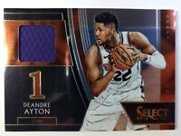2018-19 Panini Select Draft Selections Memorabilia Deandre Ayton #DS-DAY, Suns