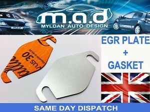 EGR VALVE BLANKING PLATE +GASKET FORD TRANSIT CONNECT MONDEO FOCUS 1.8 TDCI TDDI