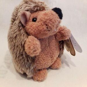"Aurora Mini Flopsie HOWIE ""Gifts of Miles"" Hedgehog 3.5"" Stuffed Plush Pet"