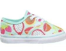 Vans Authentic (Glitter Fruits) Island Pink Toddlers 10