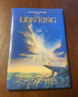 Vintage Walt Disney The Lion King Magnet Simba Movie Poster