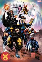 X-Men #1 DX 1:25 Var (2019 Marvel) Portacio First Print Hickman Dawn of X New
