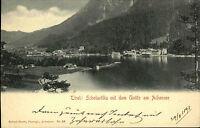 Scholastika Österreich Tirol AK 1898 Unütz Achensse Foto Robert Harth ungelaufen