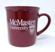 McMaster University Coffee Mug Hamilton Ontario Canada