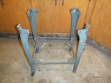 Vintage Delta Saw Industrial Cast Iron Table Legs Adjustable Table Base