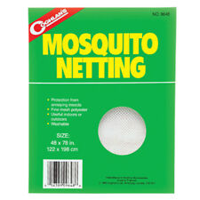 Coghlan's Mosquito Netting Canopy Bed Net Insect Bee White Mesh Shade Cover New!