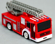 RC Radio Control MICRO FIRE TRUCK Engine W/ Ladder + Lights