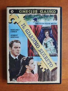 IL GIARDINO SEGRETO (1949) DVD RARISSIMO e FUORI CATALOGO
