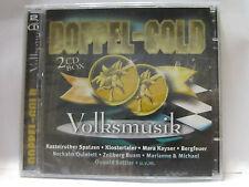 Doppel Gold Volksmusik 2 CD BOX NEU & OVP 9002723302448 KOCH          REGAL7