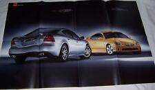 2004 04 Pontiac GTP CompG & GTO  Poster brochure