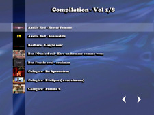 """NEW""!!! .....Compilation 8 DVD KARAOKE...... (280 titres home made)"