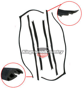 Holden Commodore Window Bailey Channel FRONT LEFT RIGHT VN VP VR VS glass rubber