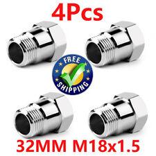 4 Pcs CEL Fix O2 Oxygen Sensor M18 X 1.5 Bung Extension Extender Adapter Spacer
