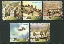 2017 Centenary of World War I - MUH Set of 5 Stamps