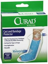 Curad Cast and Bandage Protector Adult Leg 2 Each (Pack of 3)