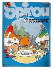 SPIROU N°   2370 15/09/1983 BE correspondant 50 Couv PEYO
