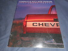 1991 Chevy Chevrolet C10 C20 C30 Trucks  68 Page Color Brochure Catalog Prospekt