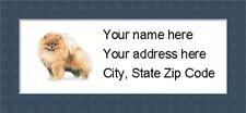 "Pomeranian Return Address Labels  - Personalized ""BUY 3 GET ONE FREE"""