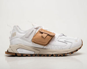 New Balance X-Racer Utility Men's White Brown Casual Lifestyle Sneakers Shoes