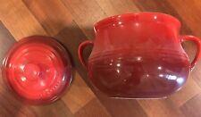 Le creuset bean pot - Red