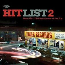 Hit List 2 More Hot 100 Chartbusters of The 70s Various Artists Audio CD