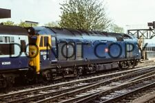 UK DIESEL TRAIN RAILWAY PHOTOGRAPH OF CLASS 50 50044 LOCO. (RM50-300)
