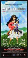 : Wolf Children Ame and Yuki the Children Lupo Manga Mamoru Hosoda Ooka L18