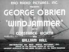Windjammer (1937) George O'Brien Action Adventure DVD
