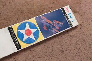 vintage squadron kites F3F-2 4ft wingspan kite gulfhawk