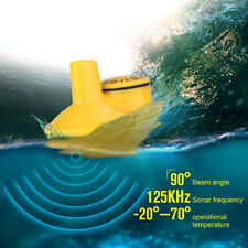 Portable Wireless Transducer Fish Finder Probe for Boat Ice Fishing P1C0