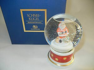 Hutschenreuther Snow Globe 2003 Santa Claus - First Edition (My Pos-Nr. 2003-5)