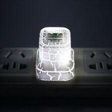 LED Light Up USB Wall Charger US Plug Universal Phone Power Adapter For Samsung