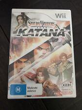 Samurai Warriors Katana Wii Game