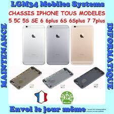 CHASSIS IPHONE 5 5S 5C SE 6 6PLUS 6S 6SPLUS 7 7PLUS BOITIERS COQUE ARRIERE