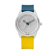 Q&Q SMILE SOLAR Unisex Armbanduhr Uhr Green Yellow RP00J006Y