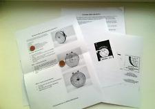 set 4 , Manual in English and in Russian RUSSIAN CIRCULAR SLIDE RULE