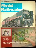 Model Railroader Magazine 1965 Complete Year 12 Issues With Binder Styrofoam