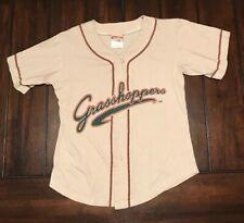 Minor League Baseball Greensboro Grasshoppers Jersey Kids Youth XL 18-20