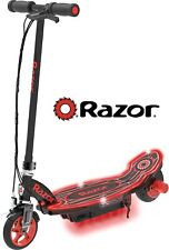 Razor Power Core E90 Glow Electric Scooter Black Red Glow Ffp Rechargable 12V