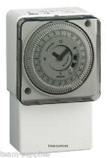 Orologio TIMER MECCANICO 24 ore Interruttore a tempo di illuminazione di sicurezza ad immersione Riscaldamento GR
